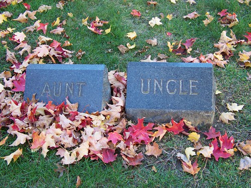 Aunt and Uncle - Maple Shade Cemetery