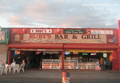 Ruby's, Coney Island. October 31, 2010. Photo © Tricia Vita/me-myself-i