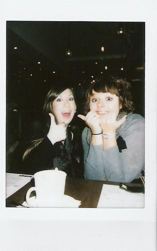 laura and Carys at Bodega