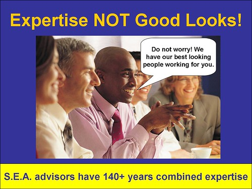 Not just good looks, but Expertise