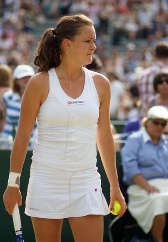 Agnieszka Radwanska at Wimbledon