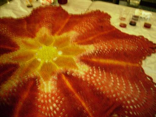 Petals after fillng in - final center details