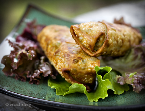 Avocado and Sundried Tomato Eggrolls