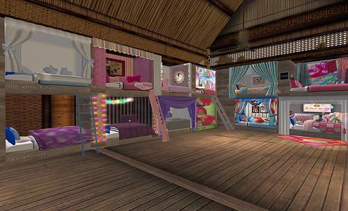 Camp Hardknock - dormitory