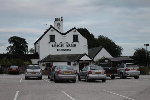 The Leigh Arms public house, Little Leigh
