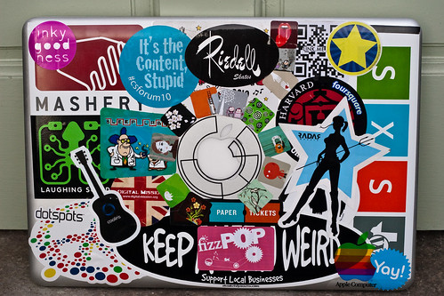 Mac laptop stickers