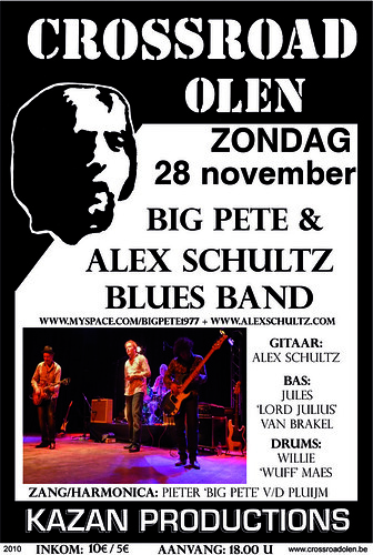 Big Pete & Alex Schultz Blues Band - Crossroad, Olen