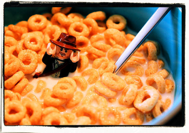 Indiana Jones and the Ocean of Cheerios