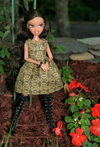 Sweet Yasmin In The Garden