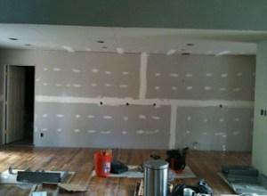 Ziems kitchen before cabinets