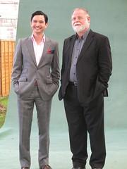 Miguel Syjuco & Alberto Manguel