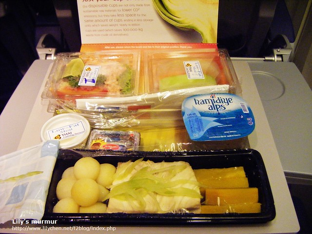 My Low Fat Meal on KLM Flight