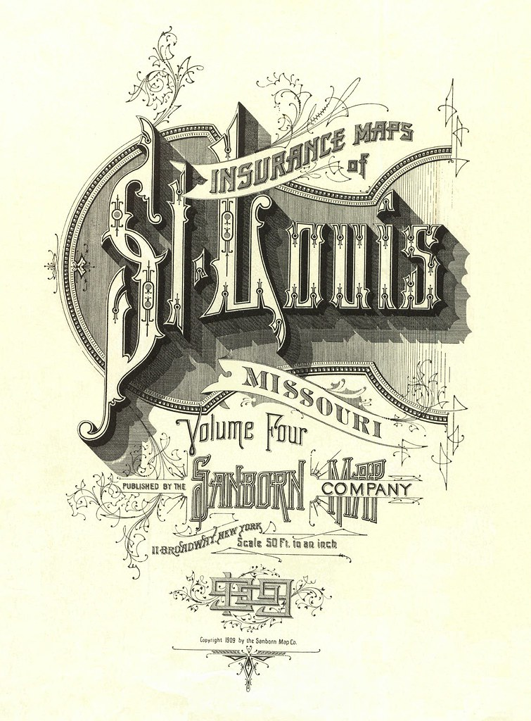St. Louis, Missouri August 1909
