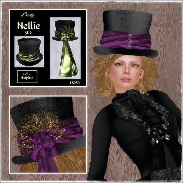 Hatpins - Lady Nellie