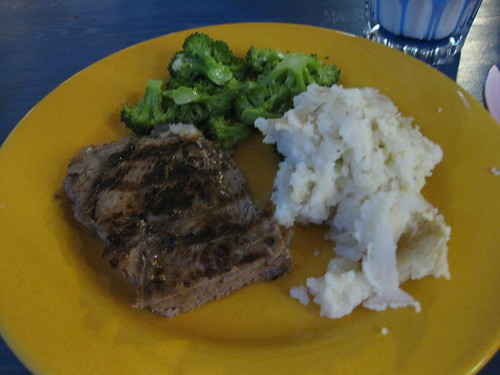 Steak and Potatoes!