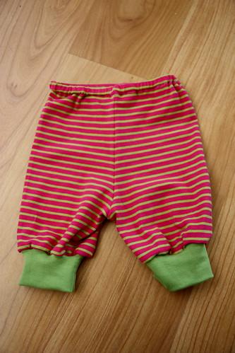 Capri pants, size 74cm