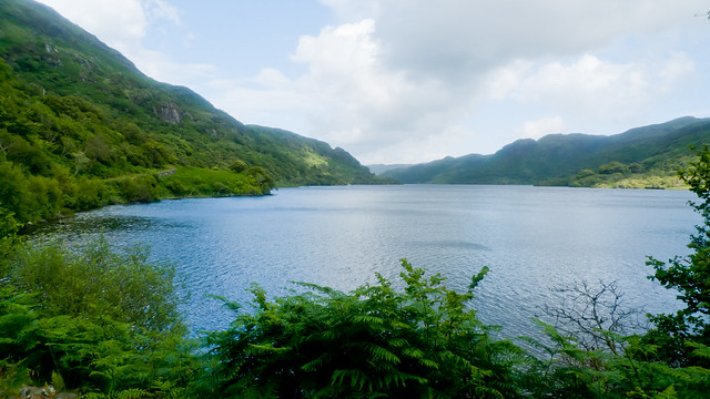 The tiny Loch Uisg