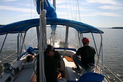 Sailing on Destiny