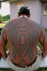 Chamoru Tribal Tattoo
