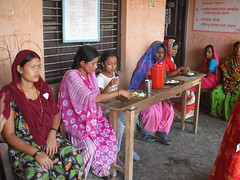 Nutrition Fair: Pregnant women's meal