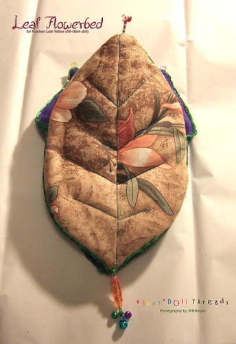 Leaf Flowerbed: back