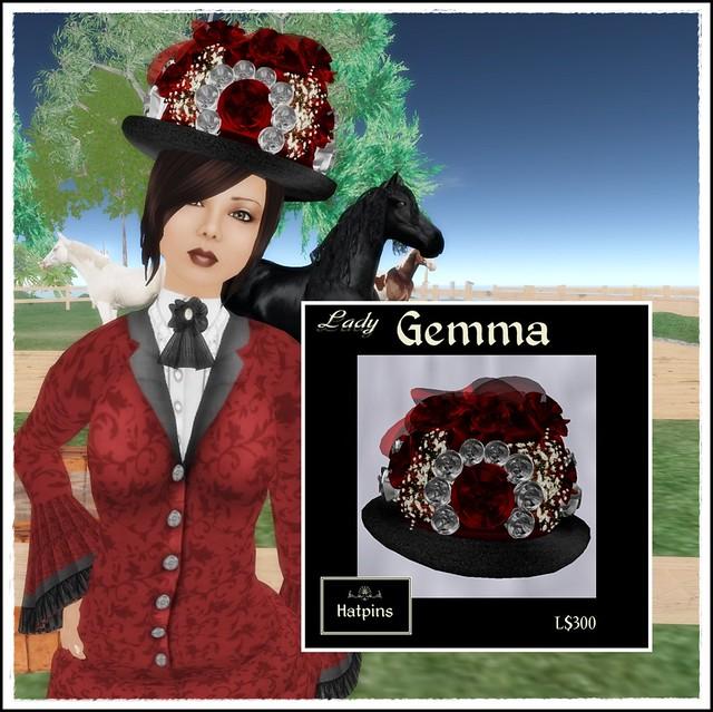 Hatpins - Lady Gemma