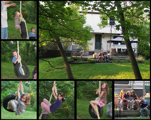 Ohio Backyard Collage 2