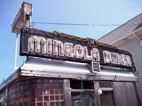 Mineola Diner Neon Sign