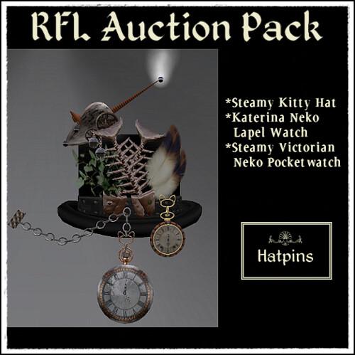 Hatpins - RFL Auction Pack