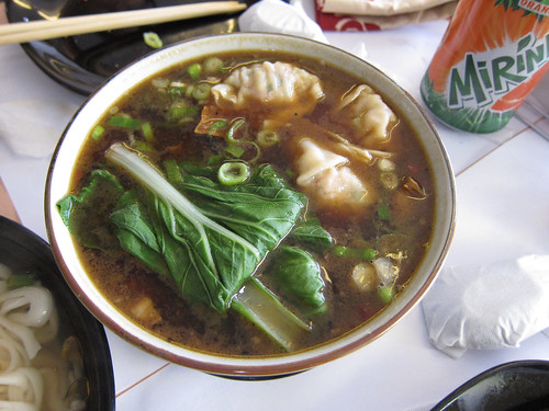 Taipei Braised Beef Noodle at Yen Yen Taiwanese Street Food