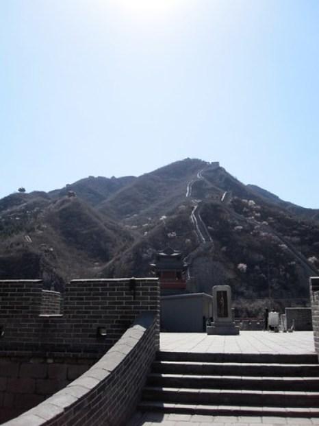 Juyongguan Pass Looking Up