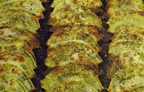 Gebackene Zucchinikeule Bild von Susanne