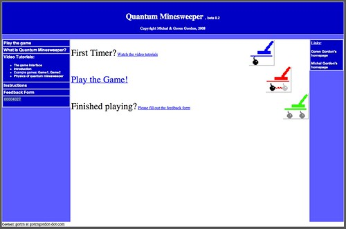 Serious Games: Quantum Minesweeper