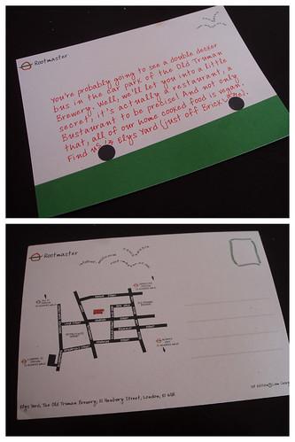 Rootmaster postcard