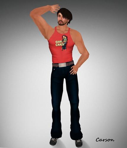 AQUA - Men's PB - Jeans - Dark  BLUE AQUA -terri.itees Gun Crazy Tand sub-o gift stylesucks.com -Sucker Belt Luxory Hunt 2