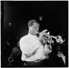[Portrait of Louis Armstrong, Carnegie Hall, N...