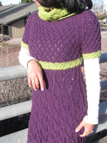 Parmenia Dress Test Knit Modeled