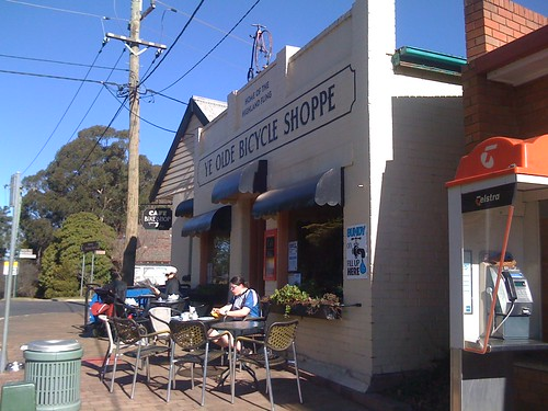 Ye olde bicycle shop cafe, bundanoon