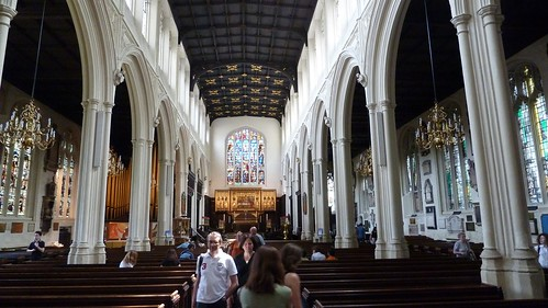 Inside of St Margaret's Church. Photograph by Cary Bass.