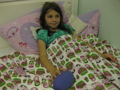 Sym's New Blanket