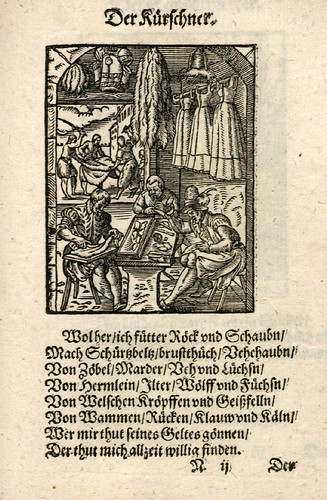 028-El peletero-Ständebuch 1568-Jost Amman-Hans Sachs