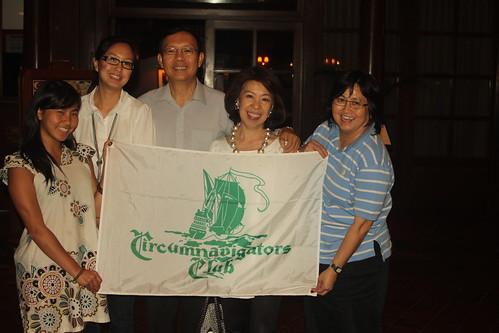 Meeting with Circumnavigator Member in Singapore