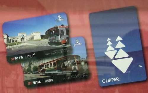 Muni Clipper Ticketing Machine - Civic Center Secondary Gates