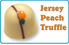 Jersey Peach truffle