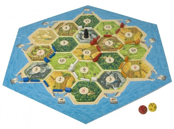 Settlers of Catan Setup