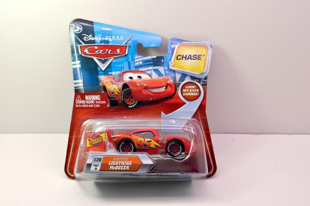 disney CARS Chase Rusteze Lightning Cqueen (1)