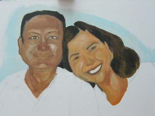 portrait - mom and dad (unfinished)6
