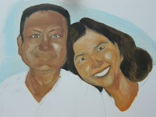 portrait - mom and dad (unfinished)7