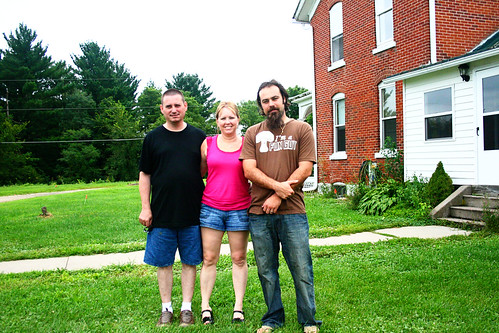 Justin, Aunt Nancy and Uncle Jon
