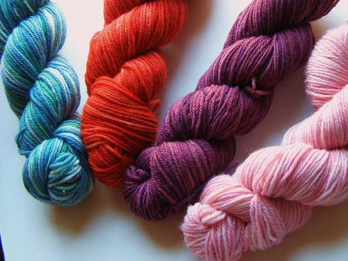 cosySpins snapdragon - light worsted
